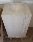 CARVED STONE SINKS