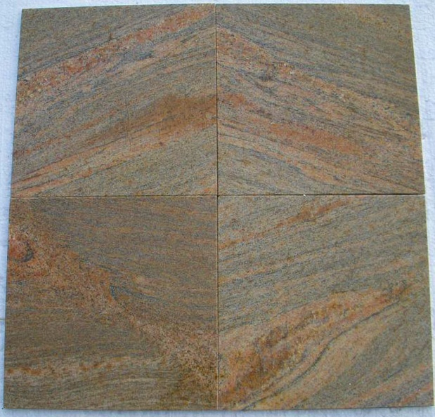 INDIAN GOLD POLISHED 12X12