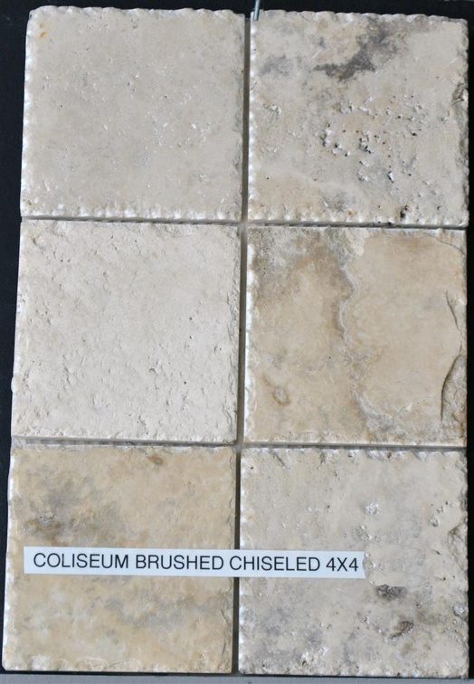 COLISEUM 4X4 BRUSHED CHISELED EDGE