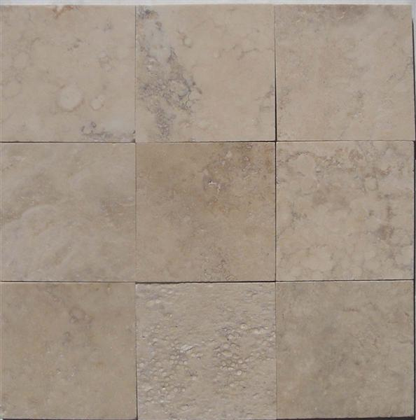 CREAM ANTIQUE BRUSHED STRAIGHT 4x4